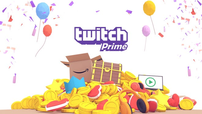 Promotional art for Twitch Prime.