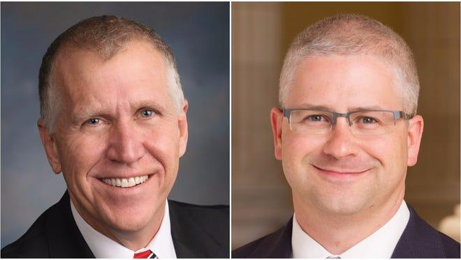 U.S. Sen. Thom Tillis and U.S. Rep. Patrick McHenry