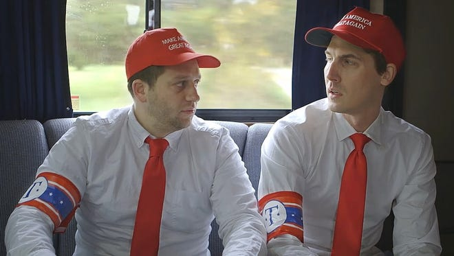 Comedians Davram Stiefler and Jason Selvig star in the mockumentary 'Undecided.'