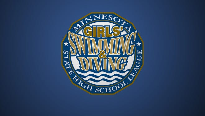 Girls swimming and diving meet