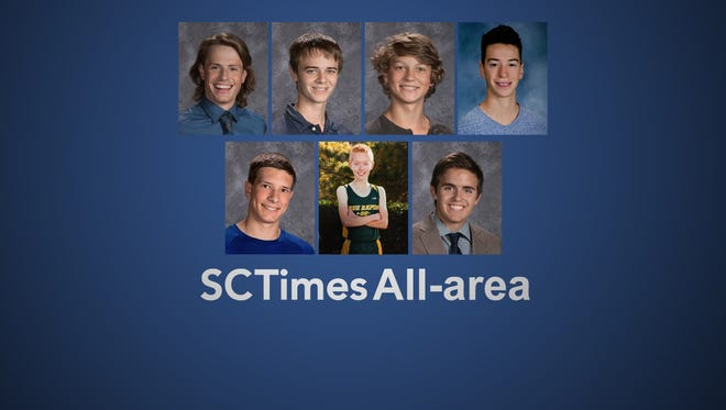 All-area cross country 2016