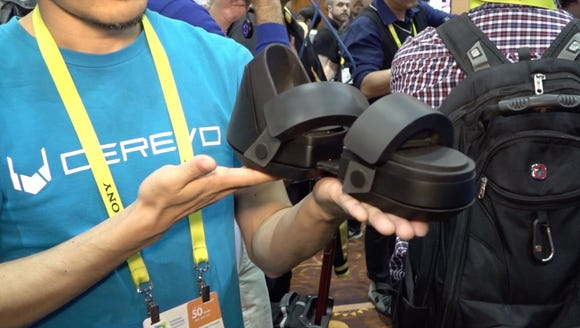 Crevo's Taclim VR shoes promises more realistic game