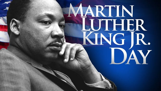 Martin Luther King Jr. Day is Jan. 21.