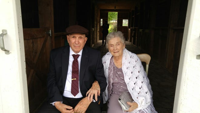 Florence and Darwin Geuther, of New Hampshire, formerly of Danby.