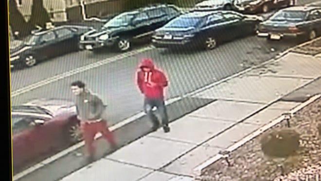 Clifton car thieves