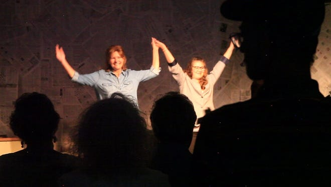 """""""Red Hot Patriot: The Kick-Ass Wit of Molly Ivins"""" can be seen at 2 p.m. Feb. 26 at the Ruidoso Schools Performing Arts Center at 125 Warrior Drive. Tickets are $15 at the door. Proceeds benefit the RHS Drama Department."""