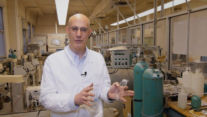 Richard E. Riman focuses on making ceramic materials under sustainable conditions.