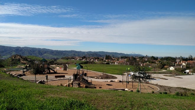 The first phase of Chumash Park in Simi Valley has been completed. The park will be dedicated and open to the public Monday.