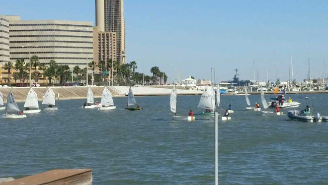 """The 2017 Texas Sailing Association """"Changes in L'Attitude"""" regatta was held in late February."""