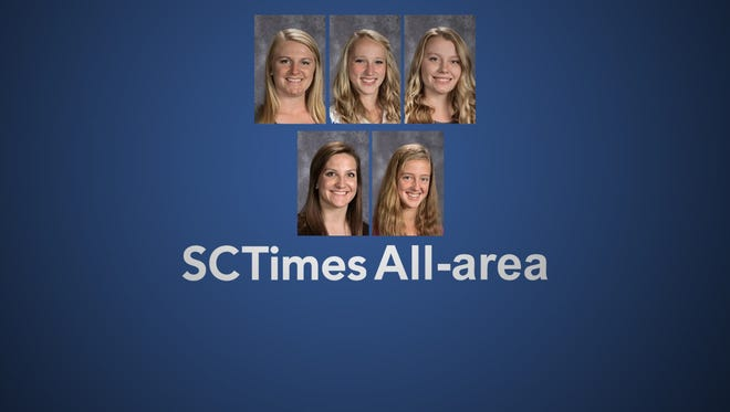 Times Media All-Area Girls Ski Team 2017