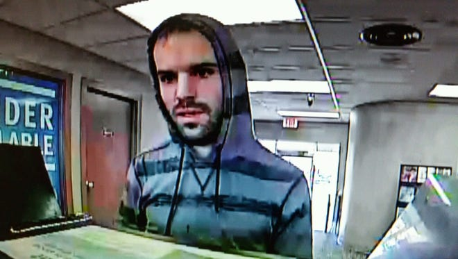 This man is suspected of robbing the Richland Bank on Ashland Road on Wednesday morning.