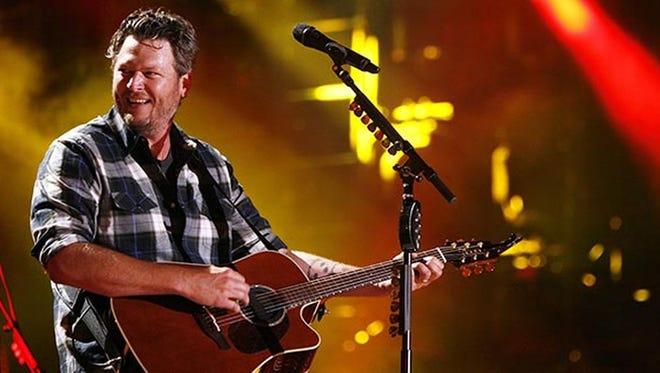 The award-winning country singer Blake Shelton got his start in central Oklahoma.
