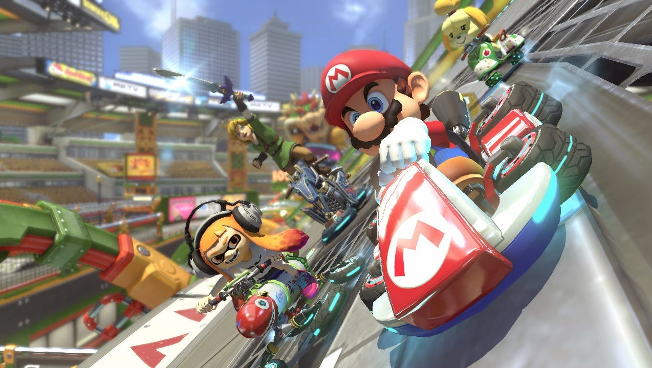 Switching Gears Mario Kart 8 Deluxe Review Technobubble