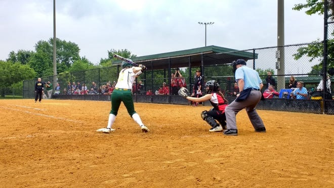 Mardela tallied just one hit against Bo Manor in Tuesday's state semi-final game.