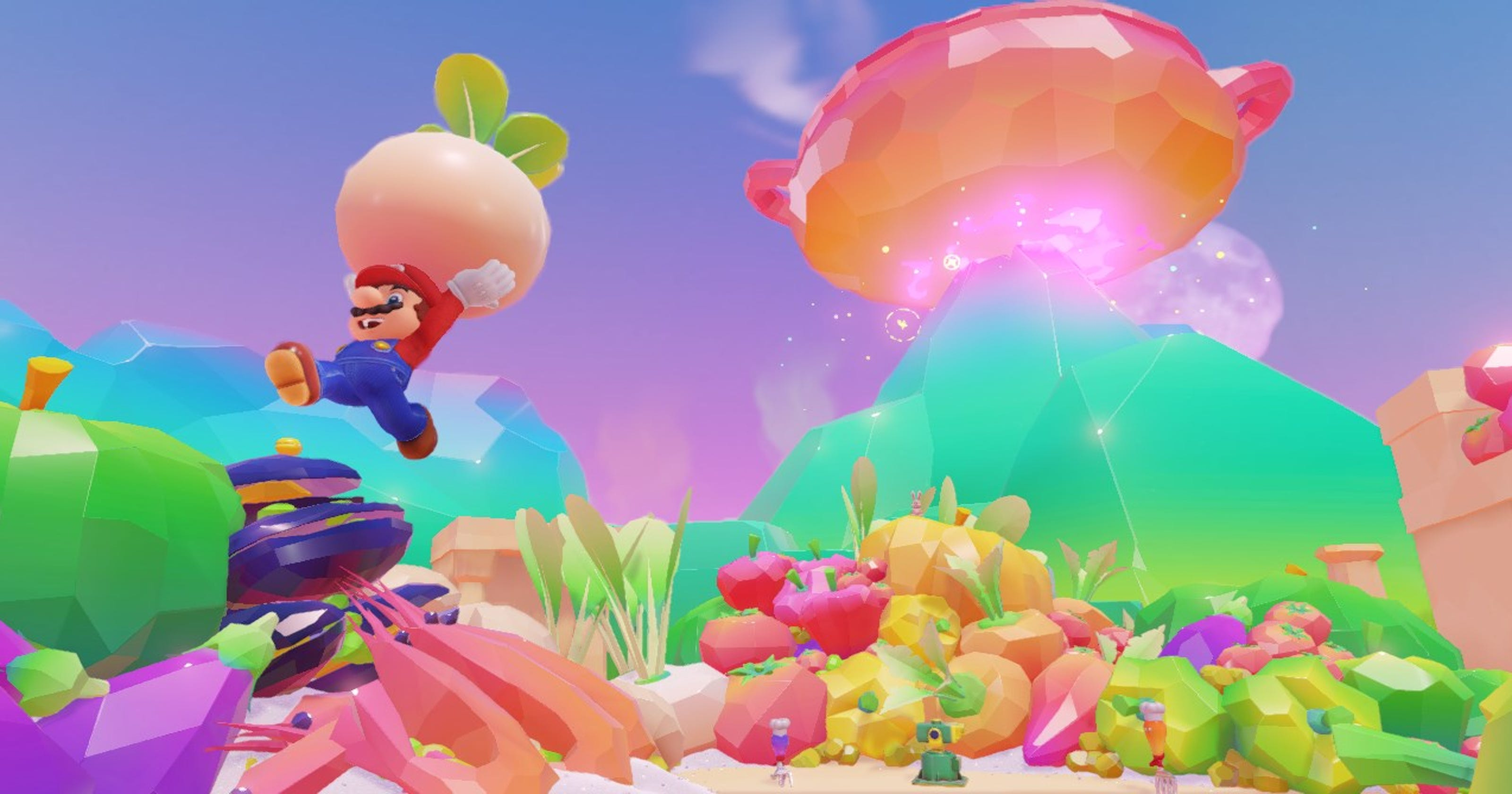 Hats Off Super Mario Odyssey Director Talks New Features Gameplay Switchsuper Technobubble