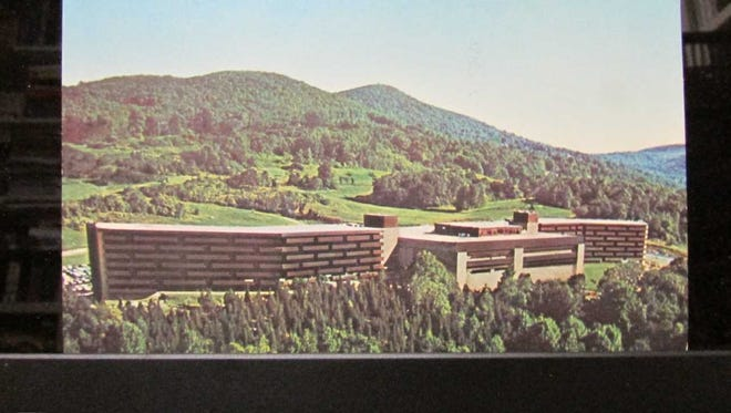 The Playboy Club Hotel in Vernon is seen when it was operating during the 1970s.