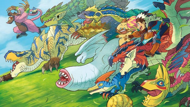 Monster Hunter gets the JRPG treatment with a dash of Pokemon in Monster Hunter Stories for the Nintendo 3DS.