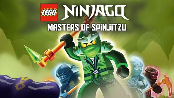Promotional art from LEGO Ninjago: Masters of Spinjitzu,