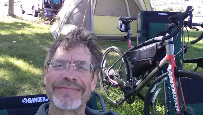 Greg Weineke pushed himself physically and mentally on a cross-country bike ride. Weineke has cerebral palsy and epilepsy.