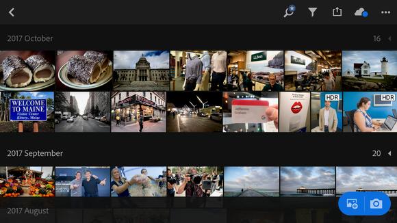 Adobe Photoshop Lightroom favorite mobile photography app