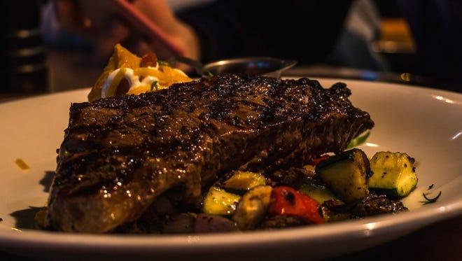Steak Night in the Alamo's Backlot Restaurant is hugely popular.