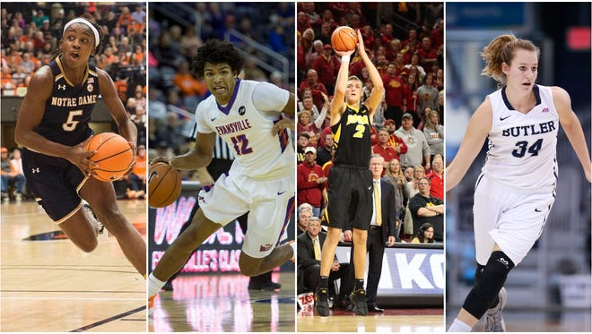 There are 15 Evansville-area natives playing Division I college basketball.