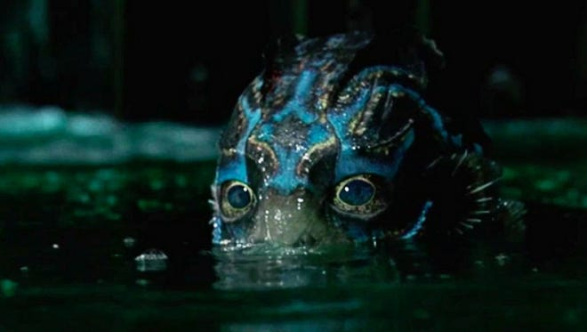 "The Amphibian Man only has eyes (covered by nictitating membranes) for you (if you are Sally Hawkins) in ""The Shape of Water."""
