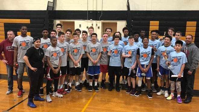 Players and coaches from the 2nd Annual Suburban League Ron Epp All Star Game