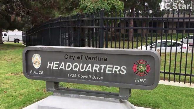 Ventura police headquarters