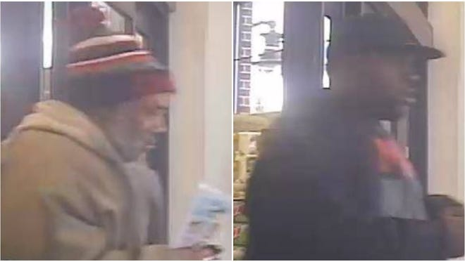 West Allis police are seeking the identities of two men suspected of a theft from a business at 61st Street and Greenfield Avenue.