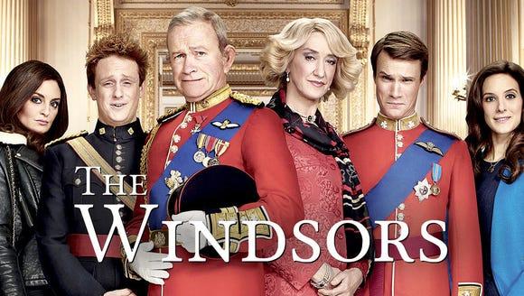 """""""The Windsors,"""" Netflix."""
