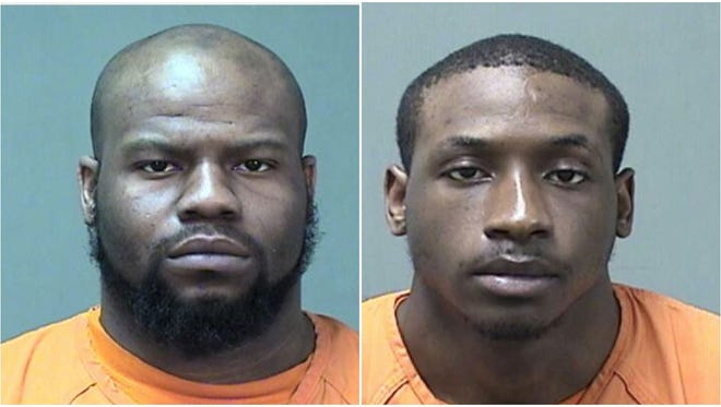 Lavander Blanks, left, and Niyoktron Martin have been charged in connection with shooting of 18-year-old Nikolis P. Wagner-Ridling on Sunday, May 20 in downtown Port Washington.