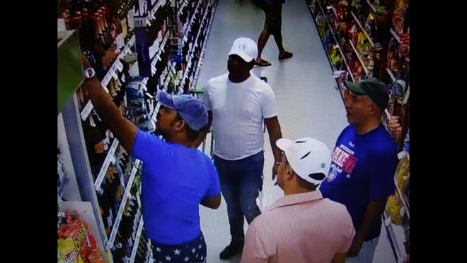 Southwest Florida Crime Stoppers is asking for the public's help tracking down several individuals who slipped several bottles of costly champagne from a Lee County Publix Monday morning.