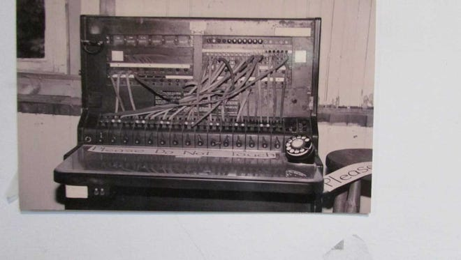 This old telephone switchboard used at West Milford Municipal Building for nearly 30 years is among the items housed at the West Milford Museum at 1477 Union Valley Road.