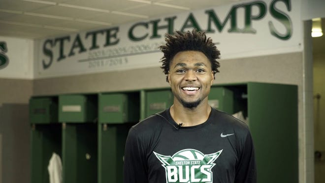 Pensacola native and Shelton State combo guard Tra'Quan Knight has signed with Division I Detroit Mercy.