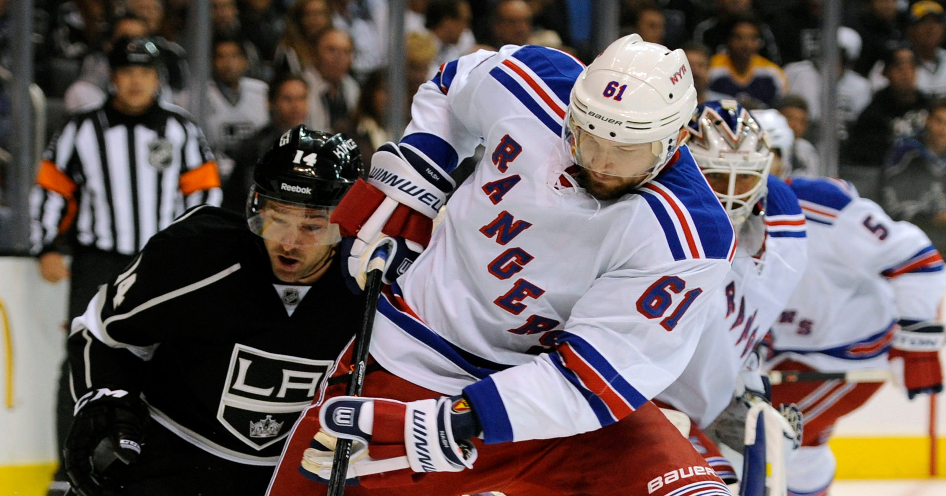 Rick Nash  excited  to be back in lineup 7962e93f2