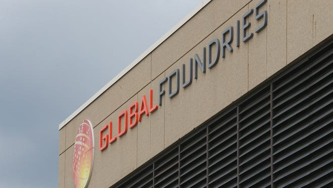 GlobalFoundries' Fab 10 in East Fishkill on June 7, 2018.