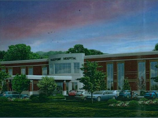 In September, TrustPoint Hospital announced it will add 399 new jobs to its Murfreesboro campus. This rendering shows a proposed 148-bed, two-story expansion of TrustPoint Hospital.