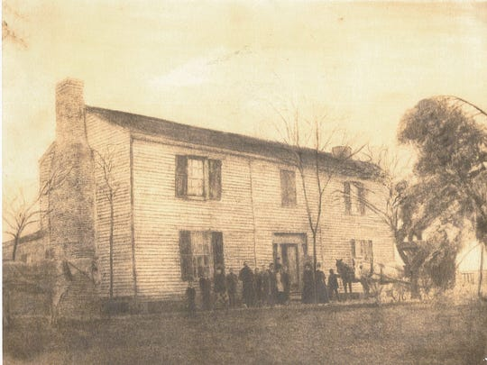 The Johns-King Home, at 845 Old Jefferson Pike in Smyrna,