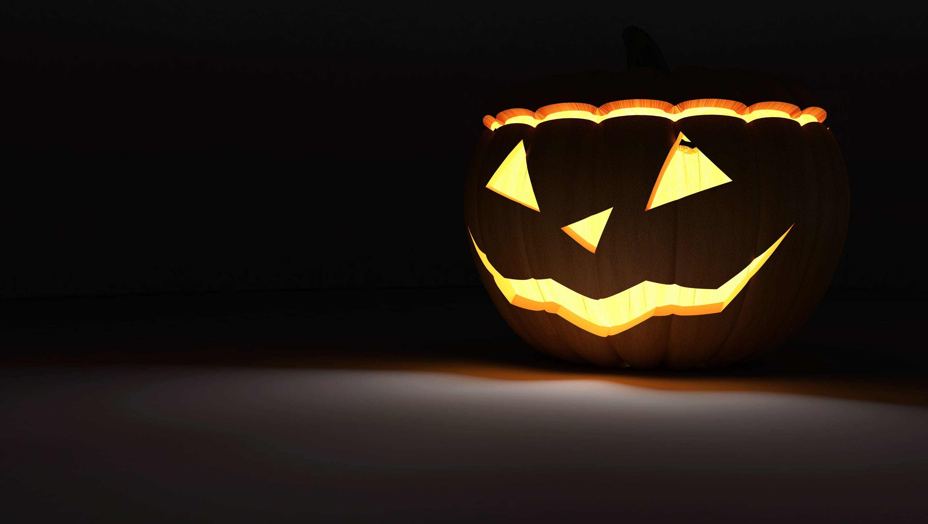 residents concerned with security guards patrolling on halloween