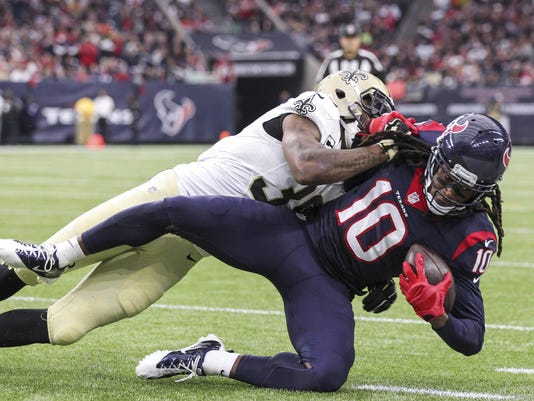 NFL: New Orleans Saints at Houston Texans