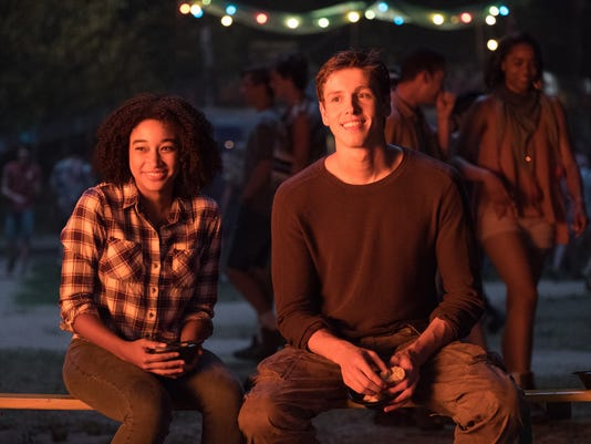 "Amandla Stenberg and Harris Dickinson star in ""The Darkest Minds."""