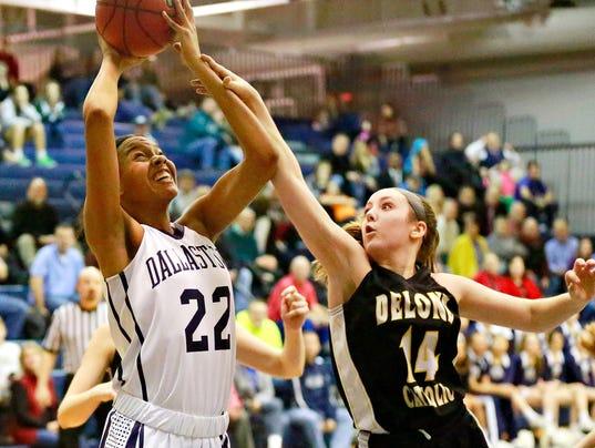 Dallastown-Delone girls' basketball