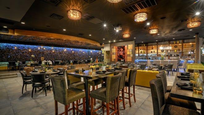 An interior view of Sonata's Restaurant in Scottsdale.