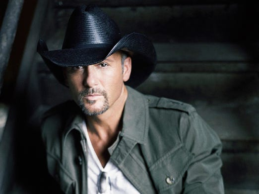 5/16: TIM McGRAW --