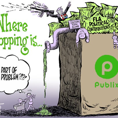 Marlette: Publix poisoned by politics? Say it ain't so!