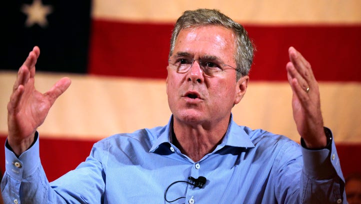 Jeb Bush and four other GOP candidates sought the backing
