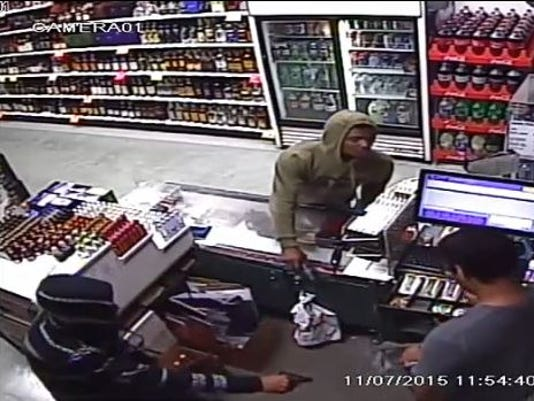 Liquor store robbery