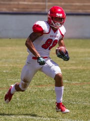 Dixie State football plays their Spring game at the
