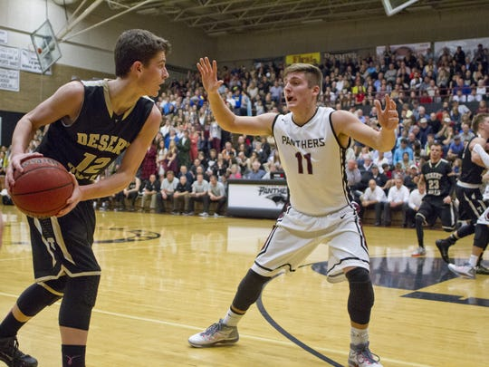 Hitting a 3-pointer against Pine View with the game on the line last year, gave Desert Hills' Marcus McKone the confidence he needed to have a big year his senior season.